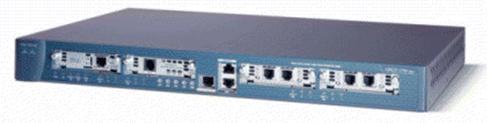 Gambar fisik router Cisco seri 1760